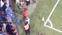 Incident entre un supporter corse et Lucas (Bastia-PSG)