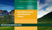 READ FREE FULL  Multidimensional Item Response Theory (Statistics for Social and Behavioral