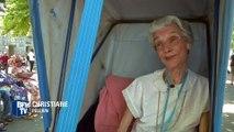 Pour le pèlerinage de Lourdes, des bénévoles accompagnent des pèlerins malades
