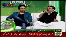 Shaikh Rasheed Ahmad Hit agin India in Live Show Shukriya Pakistan-14th August 2016