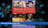 Big Deals  Human Services in Contemporary America (Introduction to Human Services)  Best Seller