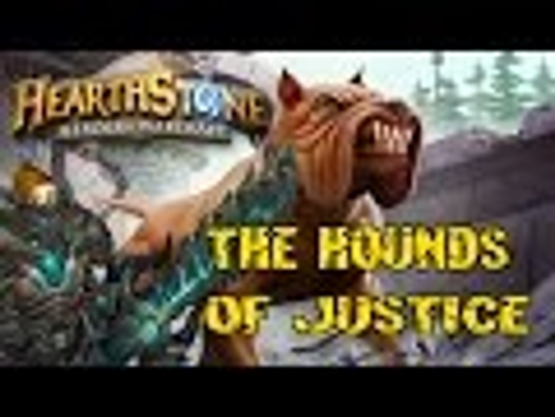 Evylyn - The Hounds of Justice! heartstone hunter pwnage (card deck dog GvG Blackrock)