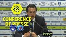 Conférence de presse SC Bastia - Paris Saint-Germain (0-1) : François CICCOLINI (SCB) - Unai EMERY (PARIS) - 2016/2017