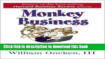 [Download] Monkey Business: Are You Controlling Events or Are Events Controlling You? Hardcover