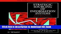 [Read PDF] Strategic Sourcing of Information Systems: Perspectives and Practices Ebook Free