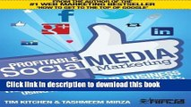 [Read PDF] Profitable Social Media Marketing: How to Grow Your Business Using Facebook, Twitter,