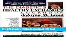 [Popular] The Diabetic s Healthy Exchanges Cookbook Hardcover Free