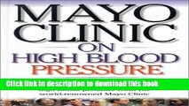 [Popular] Mayo Clinic on High Blood Pressure Hardcover OnlineCollection