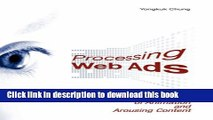 [Download] Processing Web Ads: The Effects of Animation and Arousing Content Hardcover Free