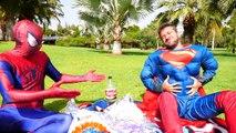 Spiderman Superman vs joker - Superman Poo surprise eggs - Fun Superhero in Real Life