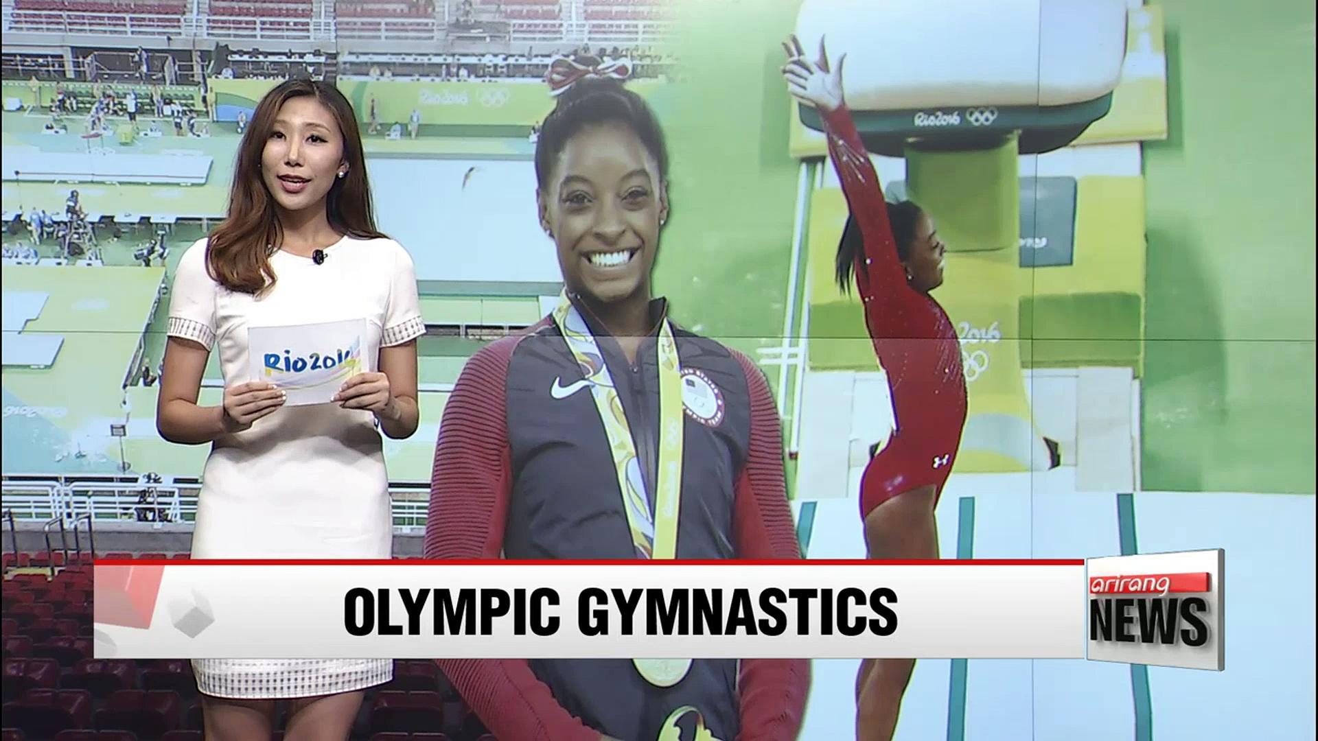 Rio 2016: U.S. gymnast Simone Biles wins 3rd gold in women's vault