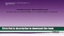[Download] Internet Auctions (Foundations and Trends(r) in Marketing) Paperback Collection