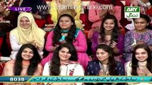 Check out Iqrar ul Hassan  Son Sings Milli Nagma in a Live Show