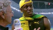 L'interview d'Usain Bolt par Nelson Monfort qui a fait le buzz sur Twitter