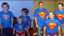 50 Super Awkward Then and Now Family Photos 2016
