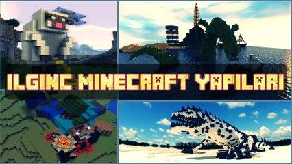 Minecraft İlginç Yapılar !