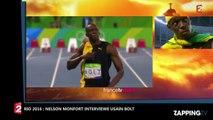 JO de Rio 2016 : Nelson Monfort interviewe Usain Bolt et se fait lyncher sur Twitter (Vidéo)