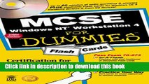 [PDF Kindle] MCSE Windows NT Workstation 4 For Dummies Flash Cards (For Dummies (Computers)) Free