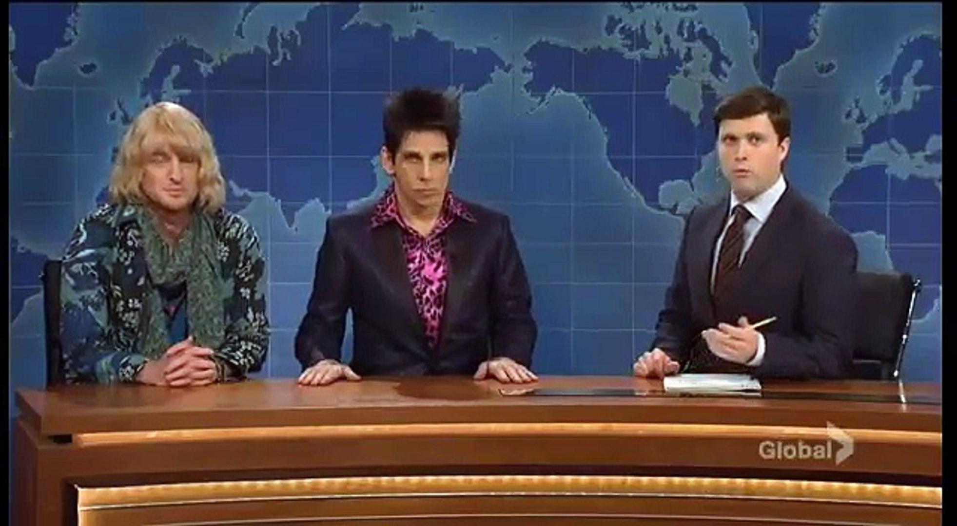 Zoolander s'invite dans le SNL
