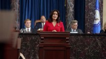 Mellie Grant's 'Made For America' Campaign Message - Scandal