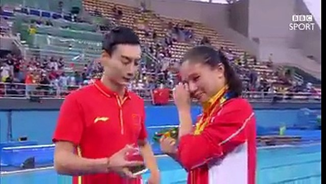 Love in air in Olympics Rio 2016 - marriage proposal after medal ceremony