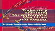 [PDF Kindle] Trajectory Planning for Automatic Machines and Robots Free Download