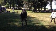Combat à pied aux Médiévales