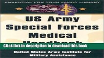 [Popular Books] US Army Special Forces Medical Handbook: United States Army Institute for Military