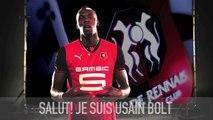 Usain Bolt supporter du Stade Rennais