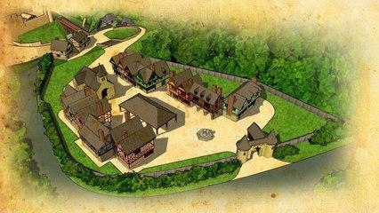 Construire un village médiéval - Archéosite de Montbazon