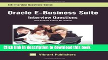 [PDF] Oracle E-Business Suite Interview Questions You ll Most Likely Be Asked Full Online
