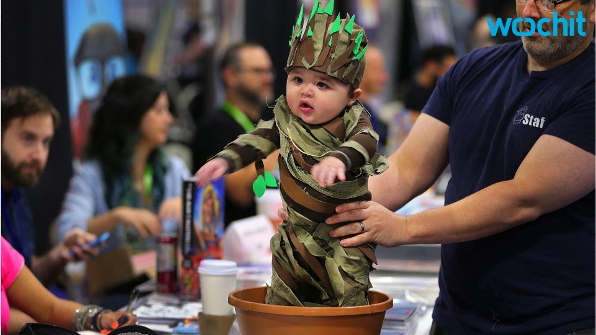 James Gunn Shares Adorable Baby Groot Cosplay