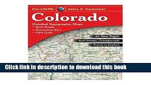 [Popular Books] Colorado Atlas and Gazetteer By Delorme (EDT) Full Online