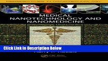 Ebook Medical Nanotechnology and Nanomedicine (Perspectives in Nanotechnology) Free Online