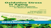 Books Oxidative Stress in Aging: From Model Systems to Human Diseases (Aging Medicine) Full Online