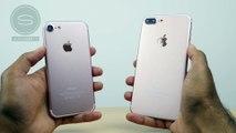 iPhone 7 vs iPhone 7 Plus Unboxing (Prototype)- the newest smartphone