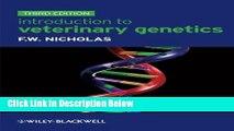 Ebook Introduction to Veterinary Genetics Free Online