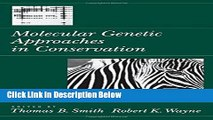Ebook Molecular Genetic Approaches in Conservation Full Online