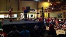 """""""Mythain Warrior"""" Anthony vs. Frankie Thomas w/ Brittany Lyn - NWA Elite Championship Wrestling - NWA World Junior Heavyweight Championship"""