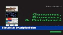 Ebook Genomes, Browsers and Databases: Data-Mining Tools for Integrated Genomic Databases Free