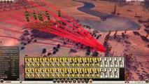 Total War  Rome 2 - Massive Battles - 25,000 Roman Legionnaires vs. Giant Ballistae