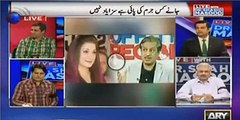 "Sabir Shakir in a roundabout way Calls Najam Sethi And Absar Alam As ""Laanati"" in live display"