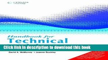 [Popular Books] Handbook For Technical Writing Full Online