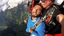 Bollywood Actor Ranveer Singh's Crazy Sky Diving Stunt Video