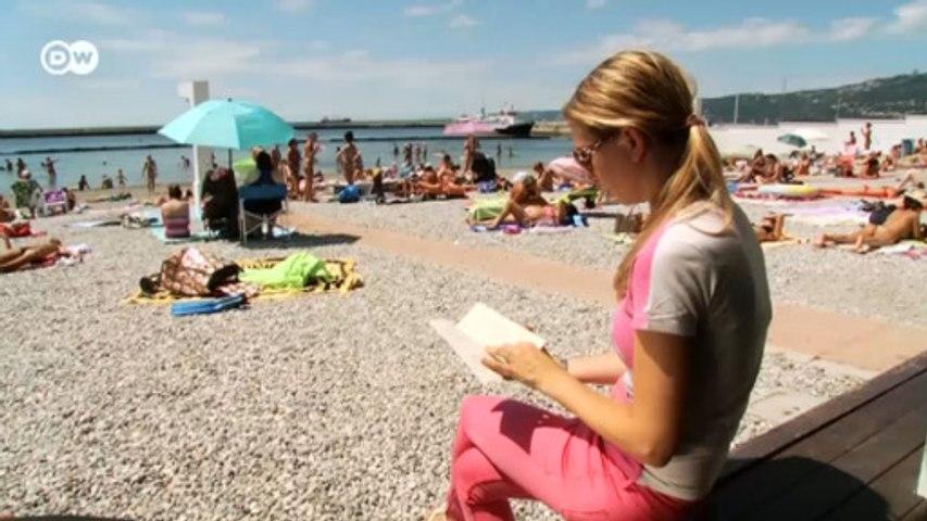 В Италии мужчины и женщины отдыхают на пляже отдельно (16.08.2016)