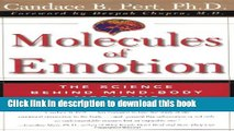 [Popular Books] Molecules Of Emotion: The Science Behind Mind-Body Medicine Free Online
