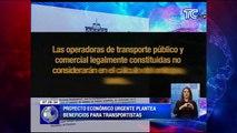 Transportistas beneficiados con ley de incentivos tributarios