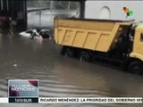 Rusia: incesantes lluvias dejan inundaciones en Moscú