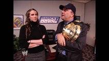 Stephanie McMahon & Paul Heyman Backstage SmackDown 11.28.2002 (HD)