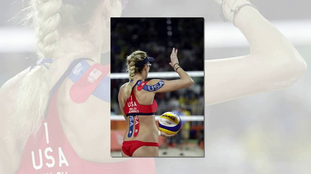 Kerri Walsh Jennings and April Ross' Incredible Bodies in Beach Volleyball Bikinis